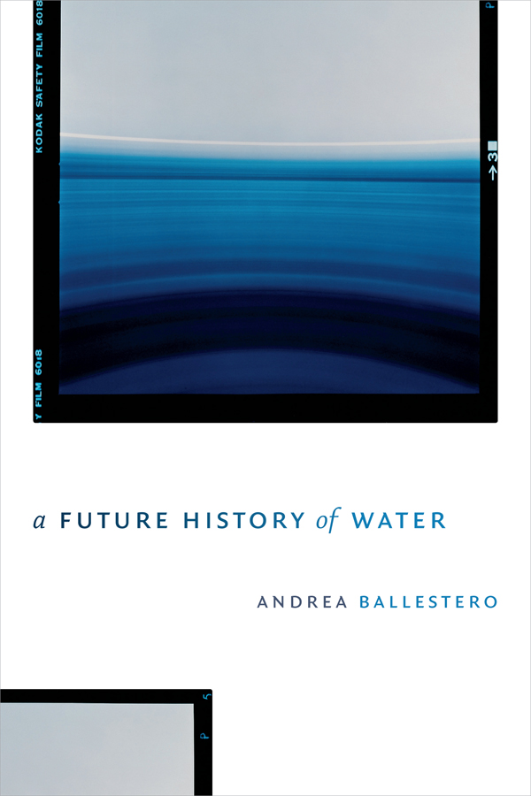 A Future History of Water in all manner of devices